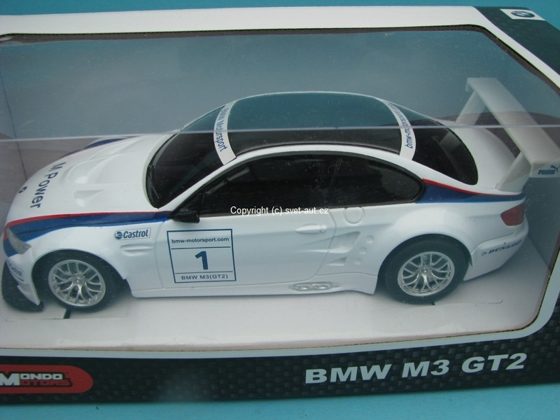 BMW M3 GT2 RC Model 1:24 Mondo Motors